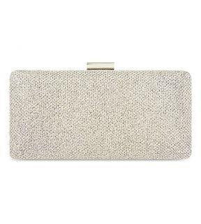 MISS KG   Olivia metallic mesh box clutch