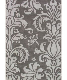 Alliyah Rugs Alliyah Handmade Grey New Zealand Blend Wool Rug (379684501)