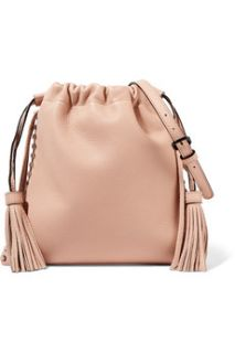 Moto fringed leather shoulder bag  Rebecca Minkoff
