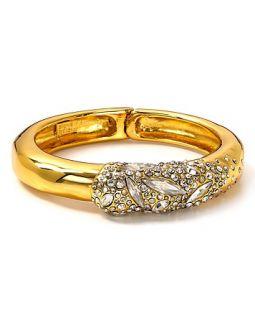 Alexis Bittar Miss Havisham Crystal Encrusted Small Overlying Bracelet