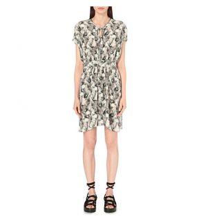 ALLSAINTS   Nevis Island silk dress