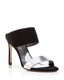 Stuart Weitzman Mule Sandals   Two Band My Slide
