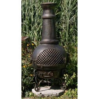 Blue Rooster Gatsby Cast Aluminum Chiminea   ALCH016
