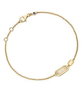 ASTLEY CLARKE   Moonstone 18ct gold vermeil bracelet