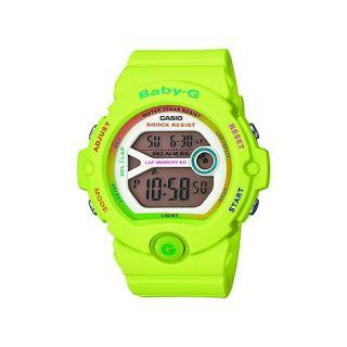 Baby G Ladies green Baby G digital watch