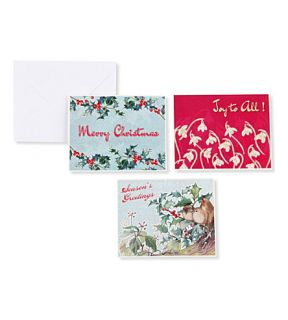 CHRISTMAS   The Country Diary of an Edwardian Lady set of 15 Christmas cards