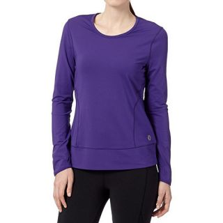 XPG by Jenni Falconer Purple fitness long sleeved top