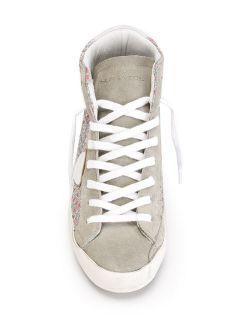 Philippe Model Printed Hi top Sneakers   Deliberti