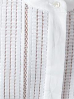 Vince Open Embroidery Half Sleeve Dress   Al Ostoura