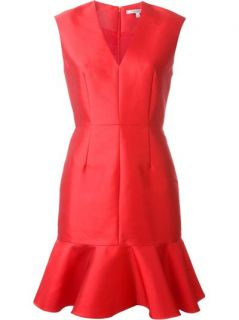 Carven Peplum Hem Dress   Lindner Fashion