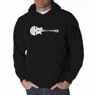 LA Pop Art Mens Whole Lotta Love Hooded Sweatshirt   16810164