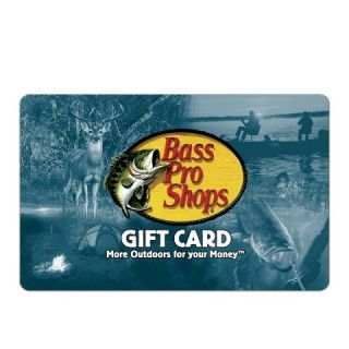 Bass Pro Shops® $100 Gift Card (email delivery)