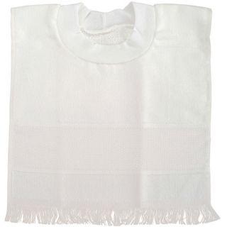 Velour Pullover White Toddler Bib Cross Stitch Kit   11535685