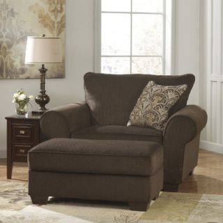Signature Design by Ashley Selma Chair and a Half and Ottoman