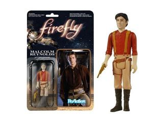 Firefly Malcolm Reynolds ReAction 3 3/4 Inch Retro Action Figure
