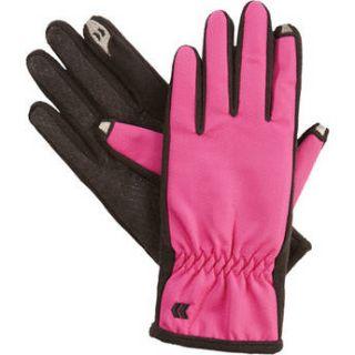 Isotoner Womens smarTouch Gloves   Ultra Plush 83164 AZL M/L
