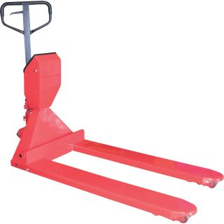 Vestil Low-Profile Pallet Truck with Digital Scale — 5,000-lb. Capacity  Pallet Trucks with Scales