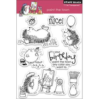 Penny Black Clear Stamps  Mimis Many Loves   14272728