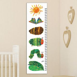 Marmont Hill Caterpillar Becomes Butterfly Canvas Growth Chart