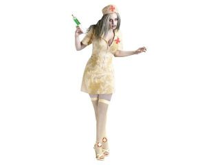 Zombie Nurse Costume Adult Medium/Large 10 14