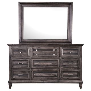 Magnussen 71900 Ashby Wood Landscaped Mirror
