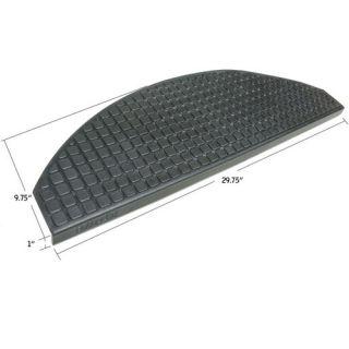 Rubber Cal, Inc. Block Grip 29.75 Step Non Slip Rubber Stair Tread