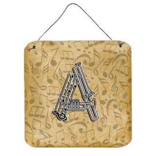 Carolines Treasures Musical Instrument Alphabet Graphic Art Plaque
