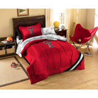 Texas Tech University Red Raiders 7 piece Bed in a Bag Set   16446707