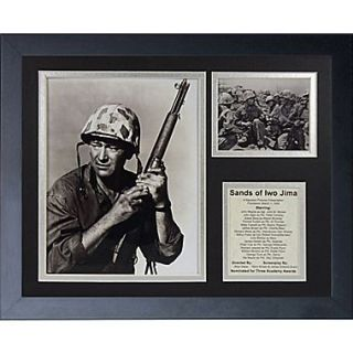 Legends Never Die John Wayne   Iwo Jima Framed Memorabili
