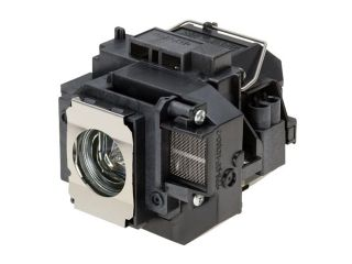 Projector Lamp for Epson MovieMate 62 with Housing, Original Philips / Osram Bulb Inside