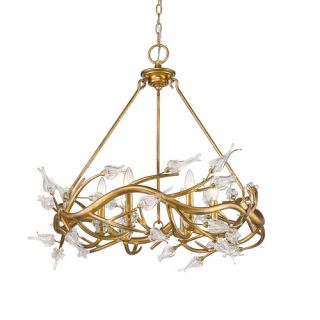Light Crystal Chandelier by House of Hampton