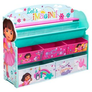 Delta Children Deluxe Book & Toy Organizer   Dora the Explorer