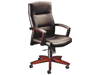 5000 Series Park Avenue Executive High Back Swivel/Tilt Chair, Blackl/