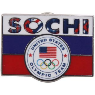 USA 2014 Winter Olympics Sochi Flag Pin