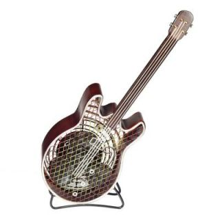 Deco Breeze 7 in. Figurine Fan Guitar Small DBF0407