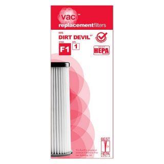 Dirt Devil® Type F1 HEPA Vacuum Filter (1 Pack), AA40001