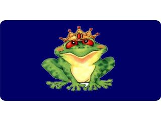 Toad Prince License Plate   Free Personalization on this Plate