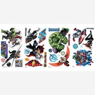 Avenger Assemble Peel and Stick 28 Piece Wall Decals RMK2242SCS