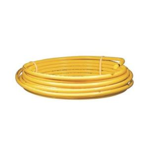 Mueller Industries 3/8 in. x 50 ft. Plastic Coated Copper Coil DY06050