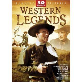 Western Legends 50 Movie Pack [12 Discs]