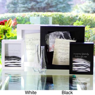 Modern Love Wedding Memories Shadow Box Set