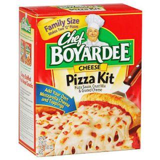 Chef Boyardee Cheese Pizza Kit   31.85oz