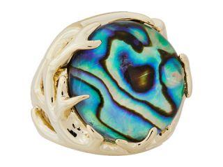 Kendra Scott Shannon Gold Abalone Shell, Jewelry, Gold, Women