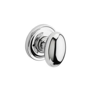 Baldwin Reserve Ellipse Polished Chrome Privacy Knob with Traditional Round Rose 9BR3530 366