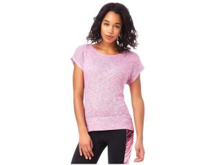 Aeropostale Womens Sheer Scoop Back Knit Basic T Shirt 102 M