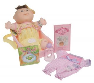 Cabbage Patch Kids Newborns with Carrier, (2) Outfits & Accessories —