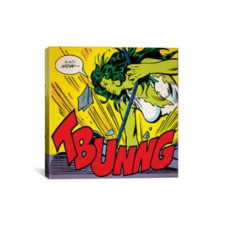 She Hulk: and Now   Tbunng! Comic Book by Marvel Comics Graphic Art on
