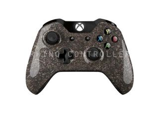 Custom XBOX One controller Wireless Glossy WTP 181 Slate Chips Custom Painted  Without Mods