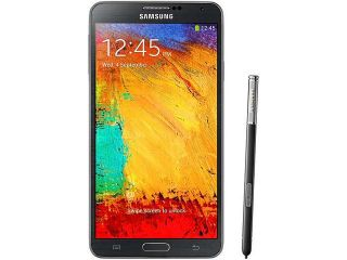 "Refurbished: Samsung Galaxy Note 3 N9000 32GB 3G Black Unlocked GSM Android Cell Phone 5.7"" 3GB RAM"