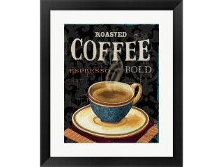 Today's Coffee IV by Lisa Audit Framed Art, Size 17.5 X 20.5